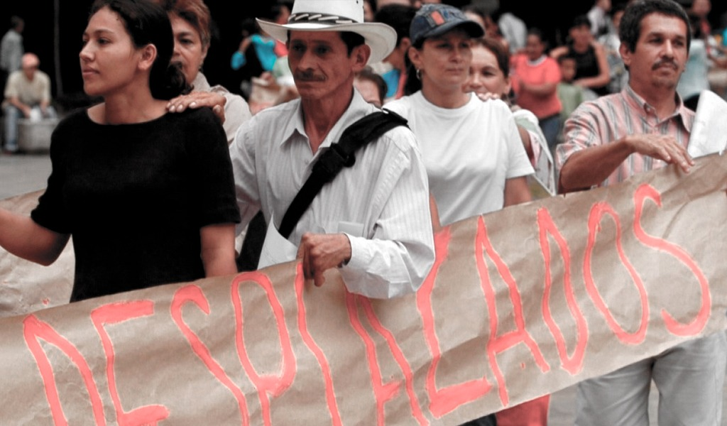 1.815 desplazados del Bajo Cauca están en Medellín
