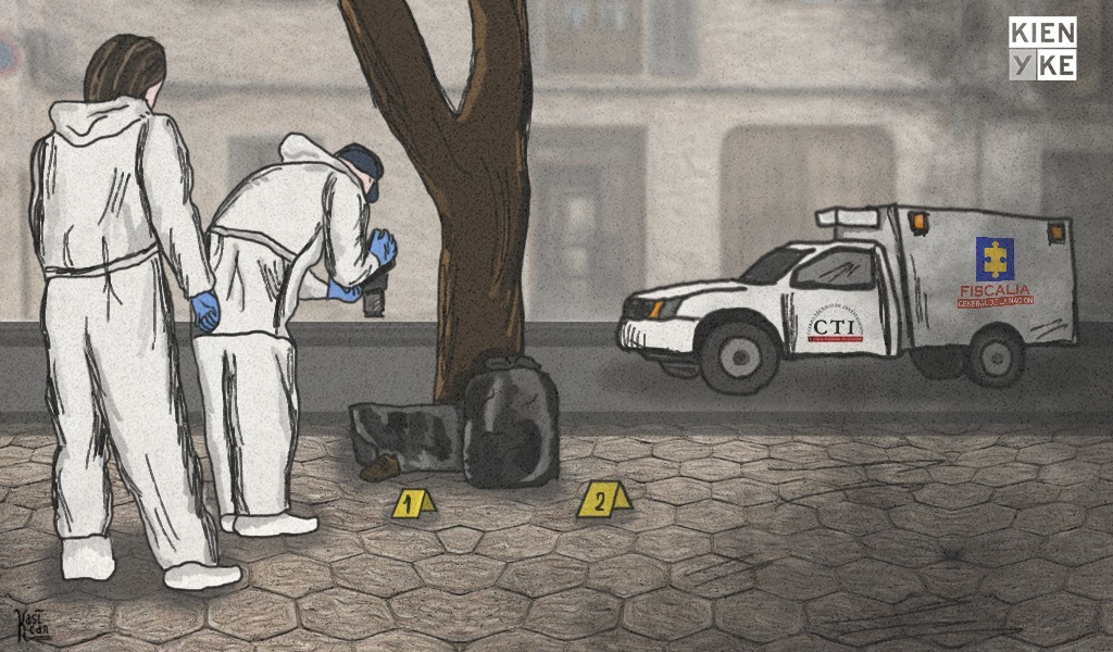 Encuentran dos cadáveres dentro de bolsas en Medellín
