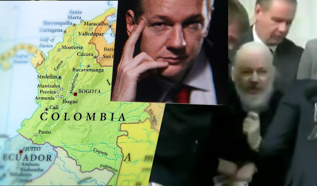 Julian Assange y sus filtraciones sobre Colombia