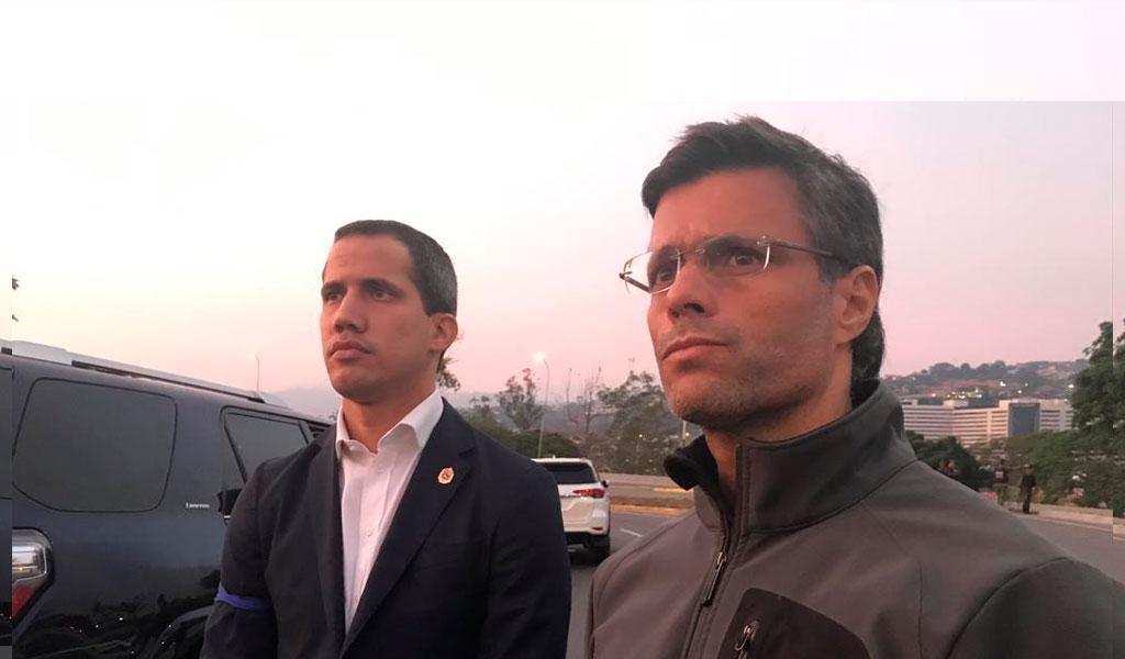 Leopoldo López se fue a la embajada de España en Caracas