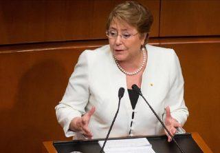 Michelle Bachelet condenó los asesinatos en Bolivia