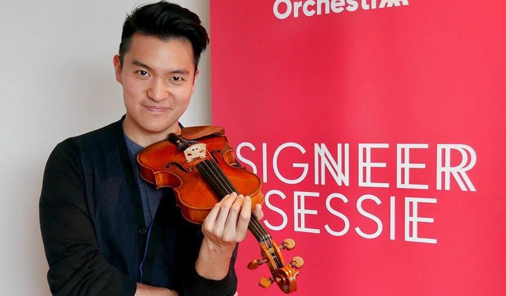 El violinista que convierte la música en empatía
