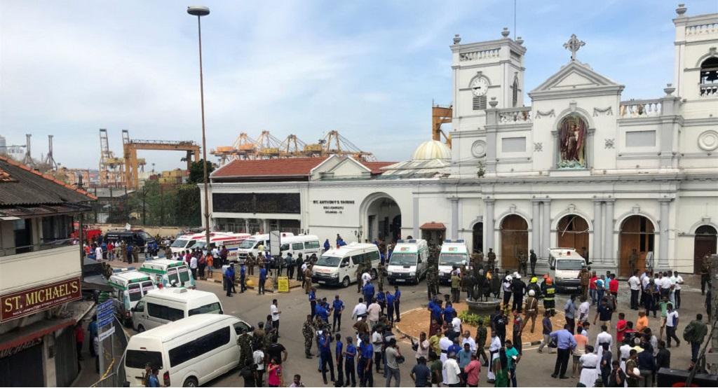 Múltiples atentados en Sri Lanka deja más de 180 muertos