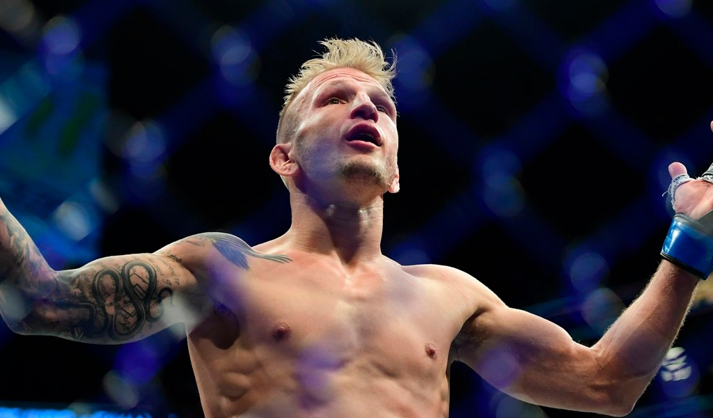 TJ Dillasaw de UFC suspendido por dopaje. USTADA encontró EPO en muestra del luchador.