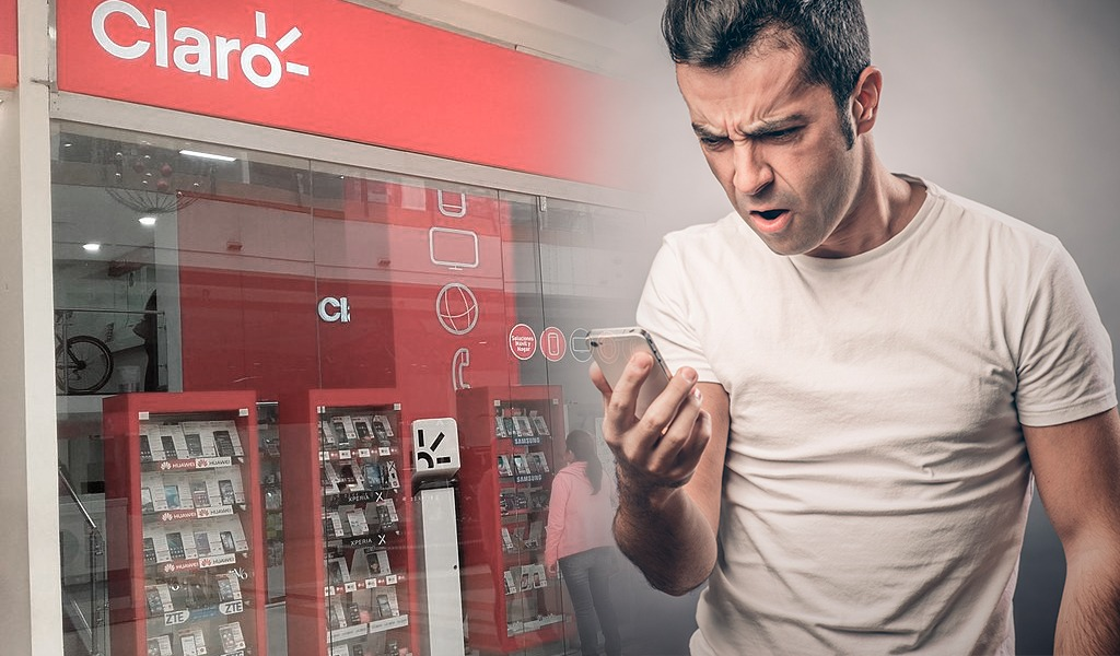 Usuarios reportan fallas en el servicio móvil de Claro