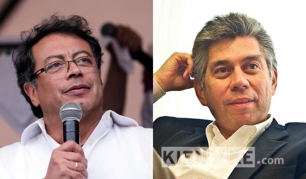 Gustavo Petro y Daniel Coronell