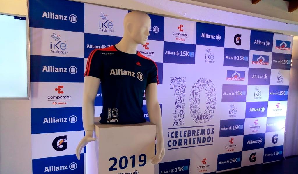 Jersey Allianz 15K