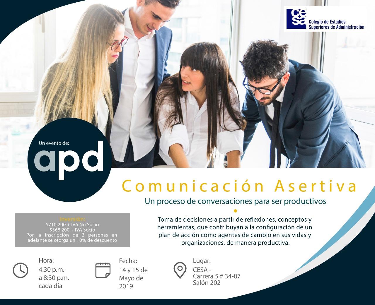 Comunicación asertiva- APD