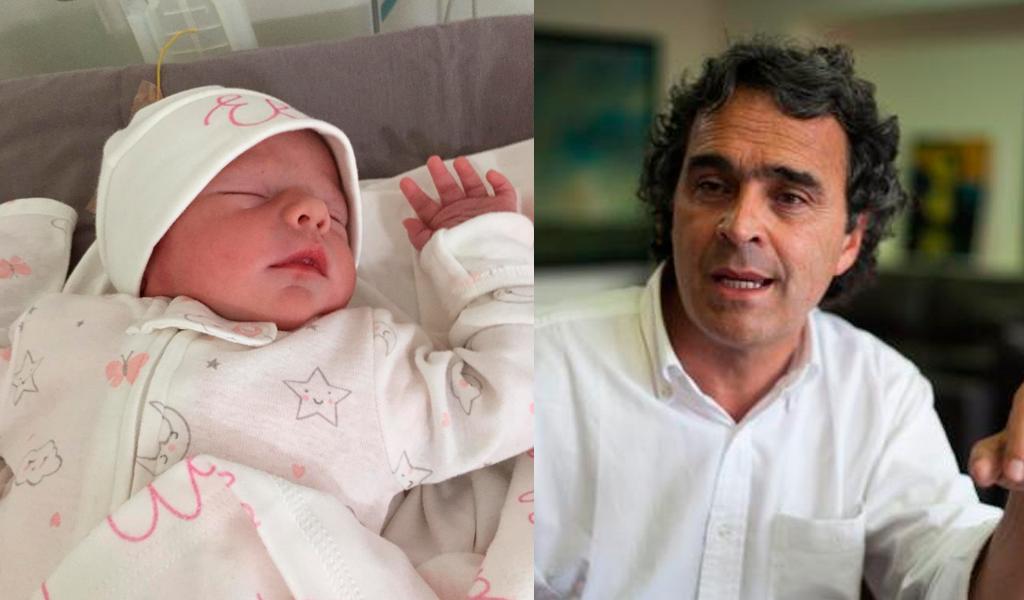 Sergio Fajardo se convirtió en abuelo