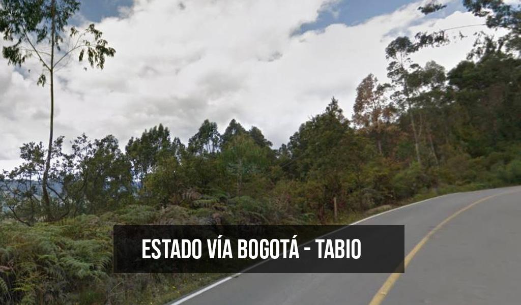 Por seis días estará cerrada la vía Tabio – Chía