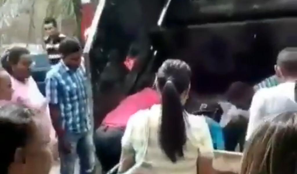 En camión de basura fue llevado paciente a hospital en Venezuela