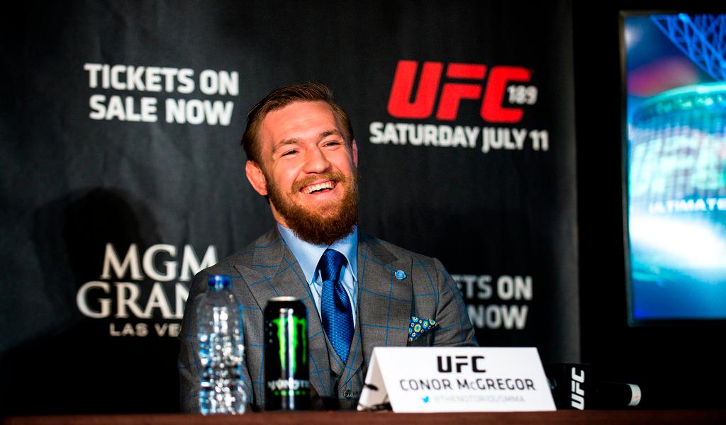 ¿Conor McGregor a WWE?