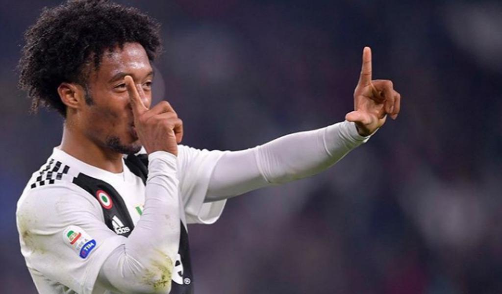 Cuadrado como titular y Juventus triunfa