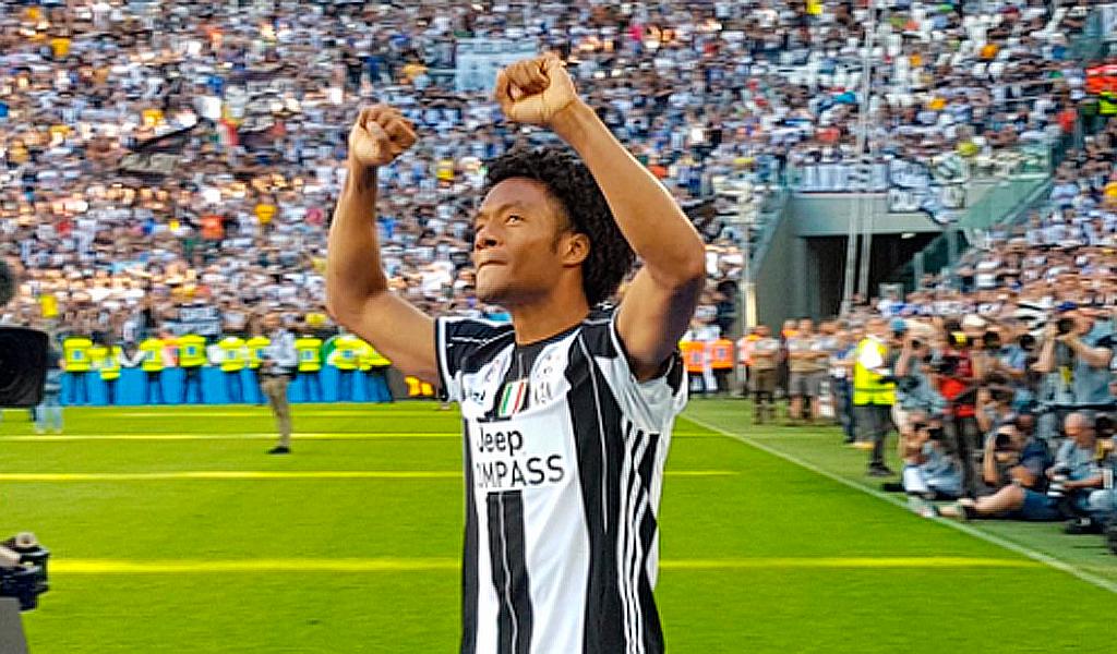 Regresa Juan Guillermo Cuadrado con la Juventus