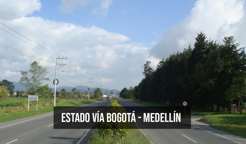 Estado vía Bogotá – Medellín para Semana Santa