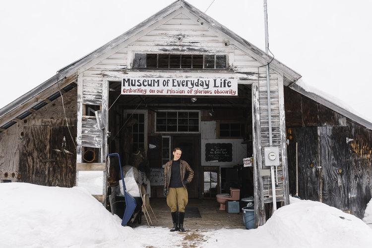 En el Museo de la Vida Cotidiana hay basura con propósito