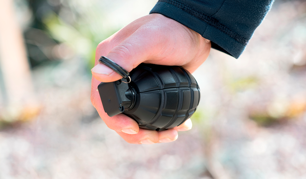 hurto con granada Bogotá