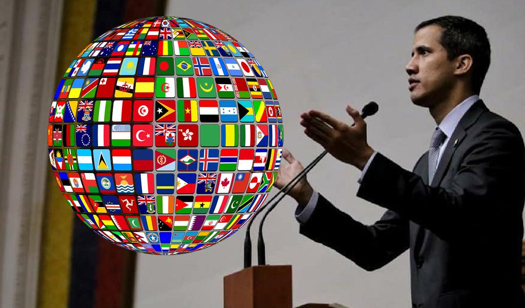 Comunidad internacional rechaza decisión contra Guaidó