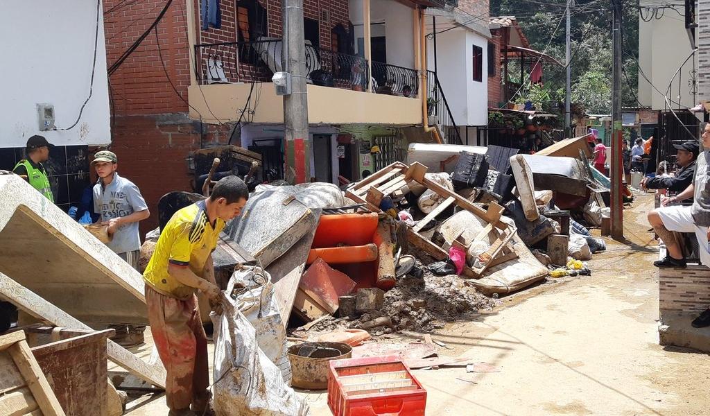 148 familias afectadas por inundación en Caldas, Antioquia