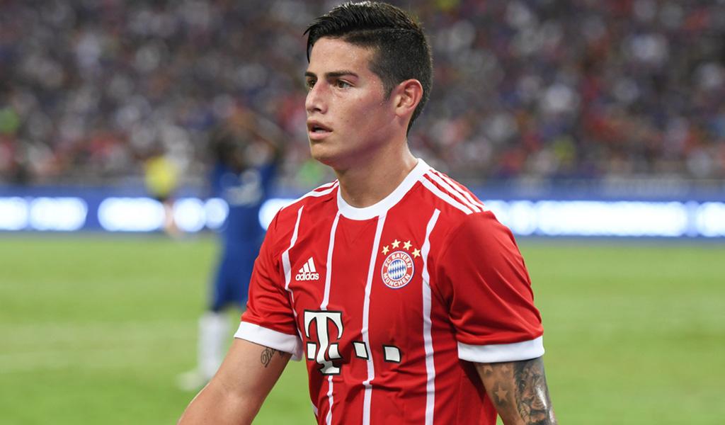 Casi no dejan entrar a James a estadio del Bayern Múnich