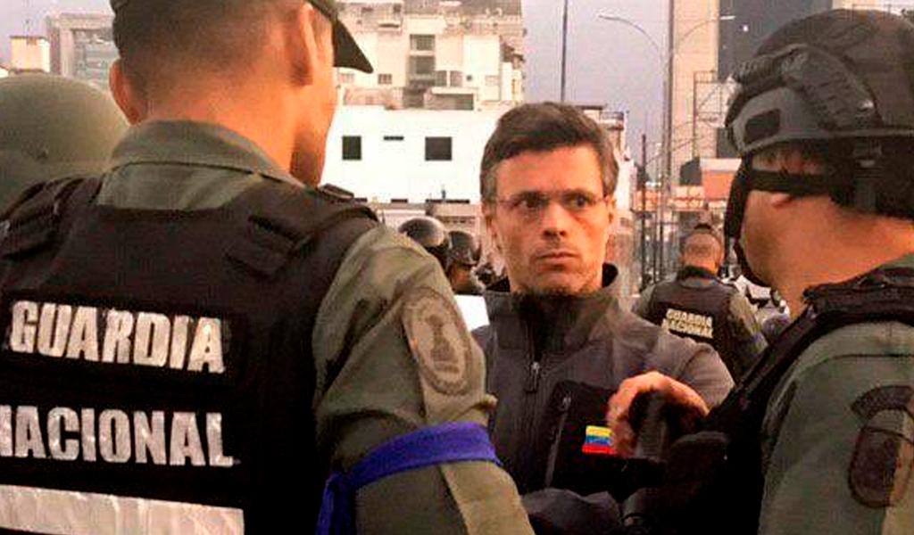 Chile aloja a López en residencia diplomática en Caracas