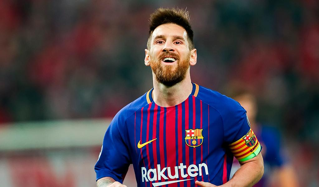 Edu Aguirre, Lionel Messi, Barcelona