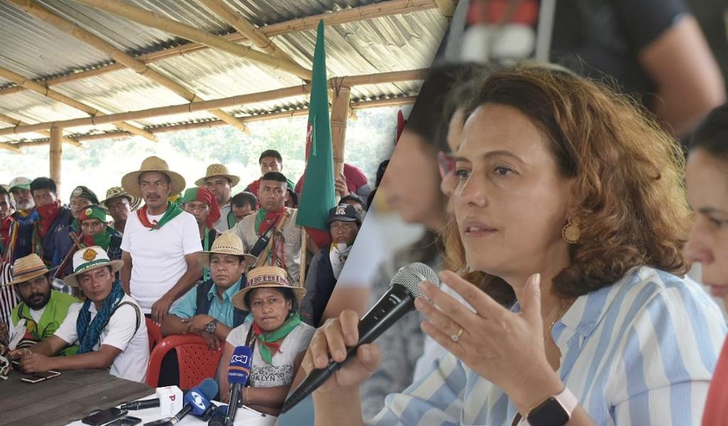 Gobierno confirma concertación con indígenas del Cauca