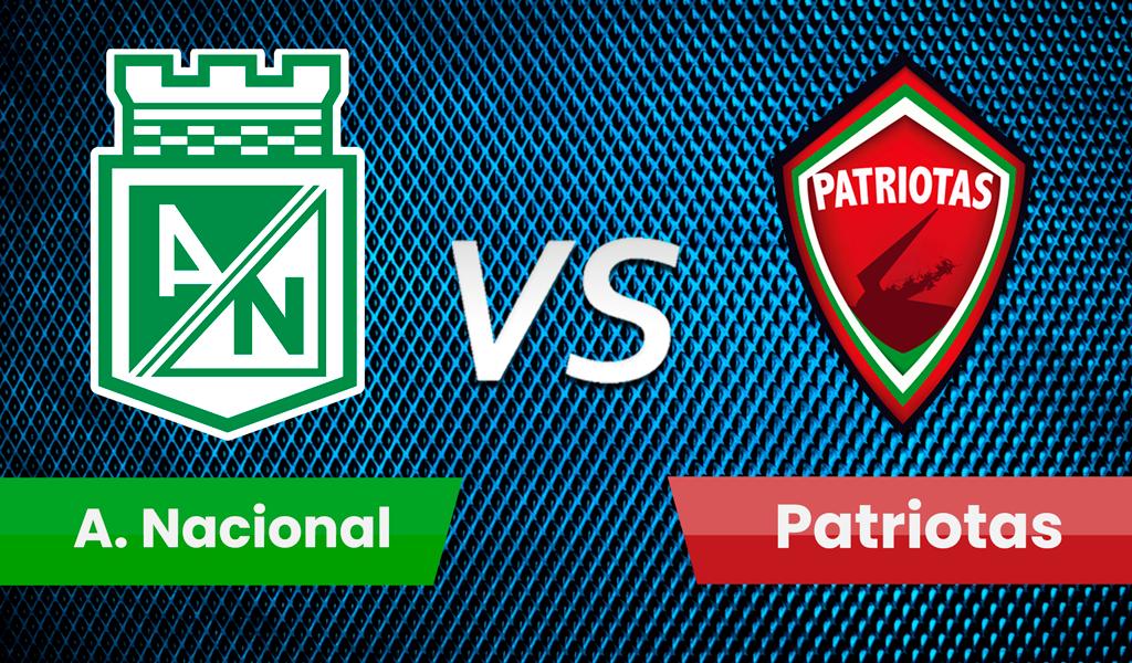 En vivo Nacional vs Patriotas