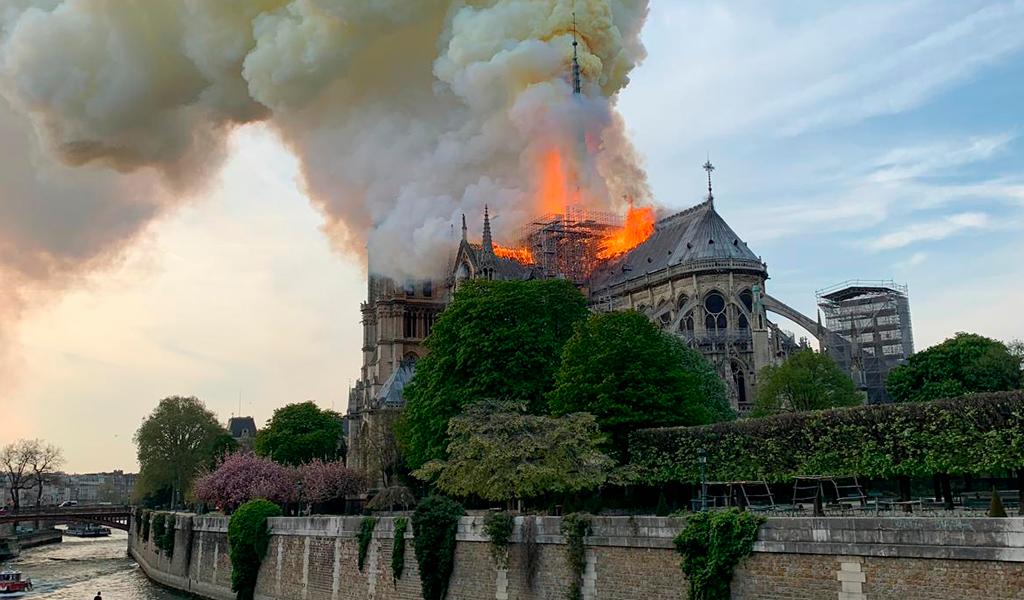 Reconstrucción Notre Dame