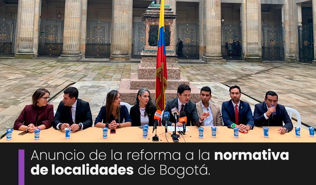 Bloque multipartidista para reformar Estatuto de Bogotá