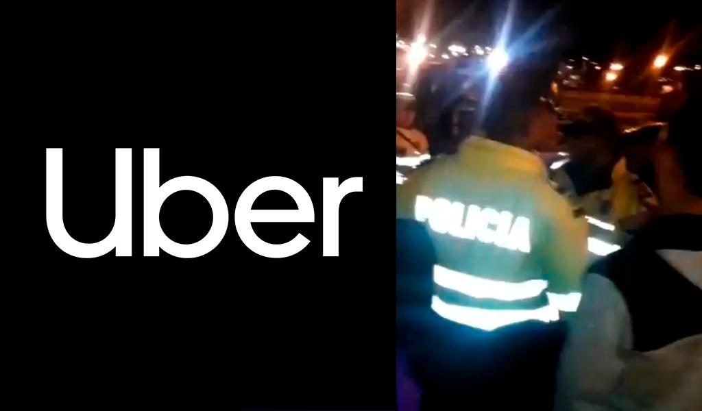 Policía dispara a conductor de Uber por evadir retén