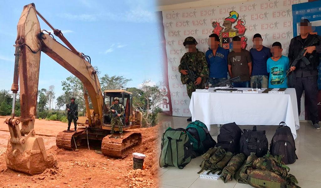 Ejército golpea grupos ilegales en Córdoba, Chocó y Antioquia