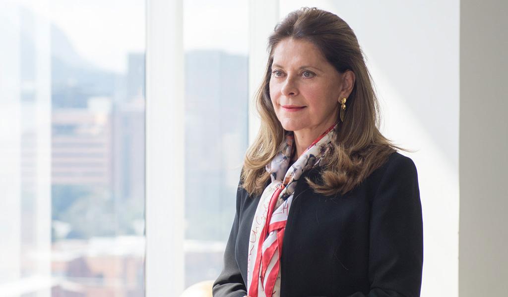 Marta Lucía Ramírez pide ayuda divina para Guaidó