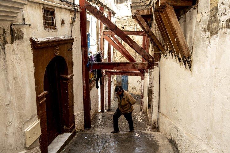 Deterioro y caos aquejan a la Casbah 'en peligro'
