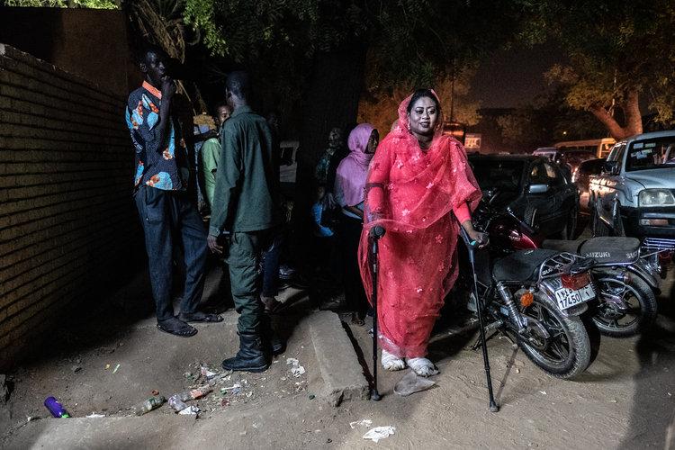 La historia de amor que nació en medio del golpe en Sudán