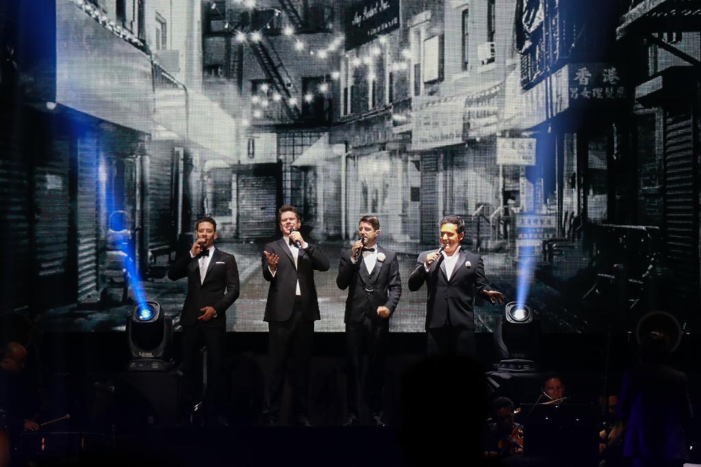 Así se vivió el concierto de Il Divo en Bogotá