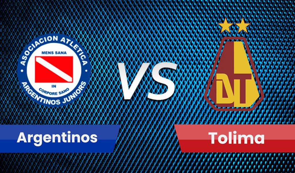Argentinos Jrs vs Deportes Tolima