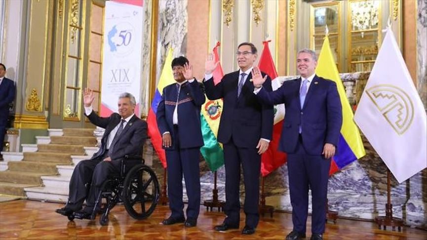 Bolivia, próximo encuentro de Comunidad Andina