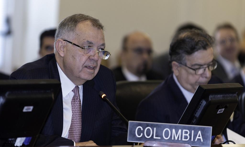 Canciller Alejandro Ordóñez