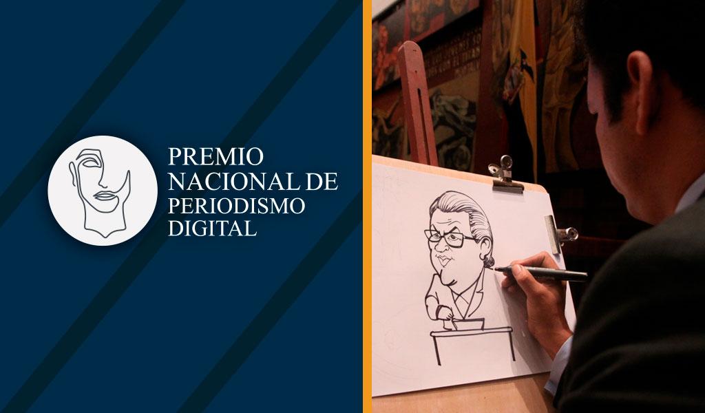 Premio de periodismo digital reconocerá a caricaturistas