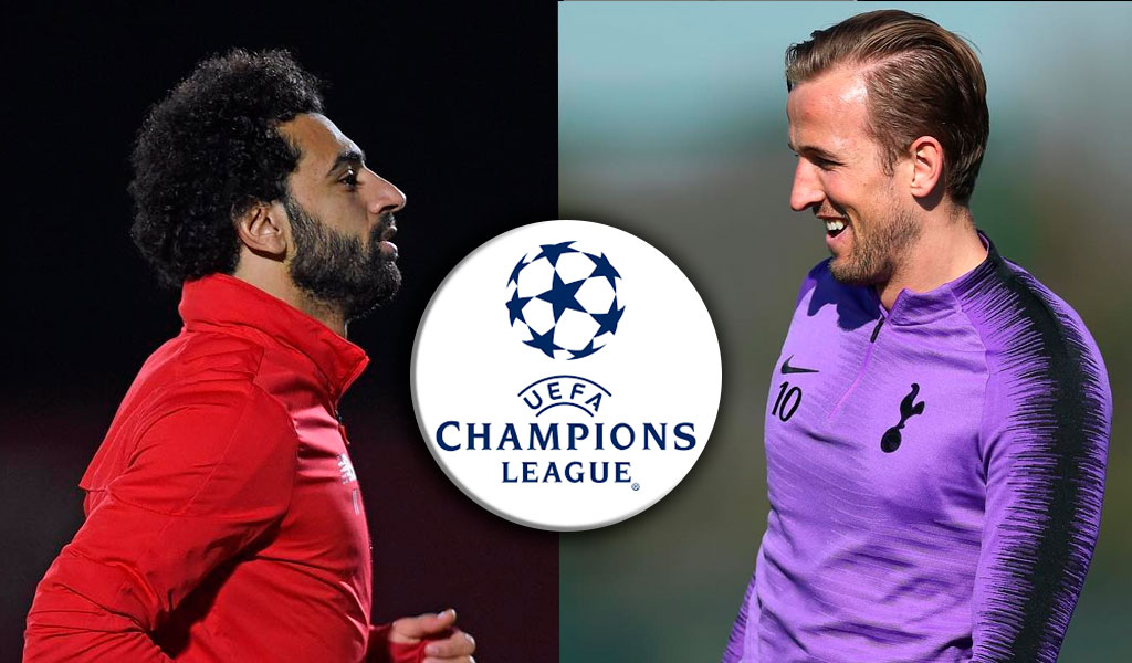 Champions League, Mohamed Salah, Harry Kane