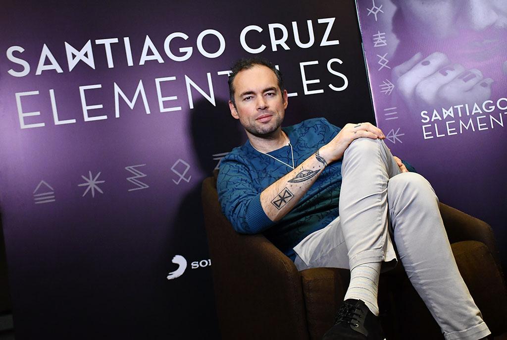 Santiago Cruz y la última temporada de 'Elementales'