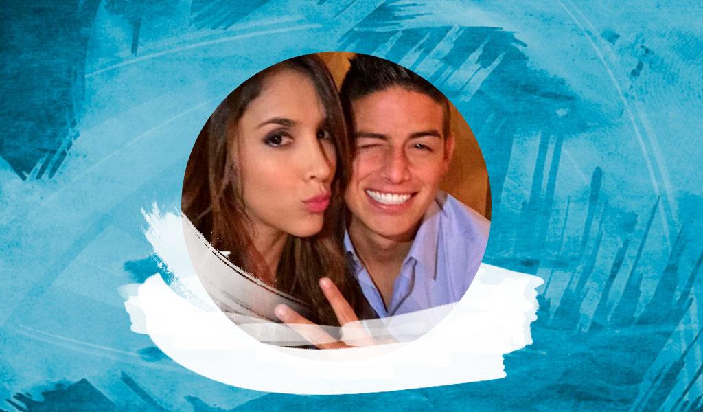 Nueva foto de Daniela Ospina y James juntos