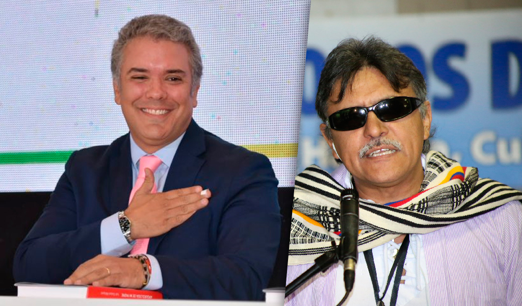 Empresarios respaldan a Duque tras libertad de Santrich