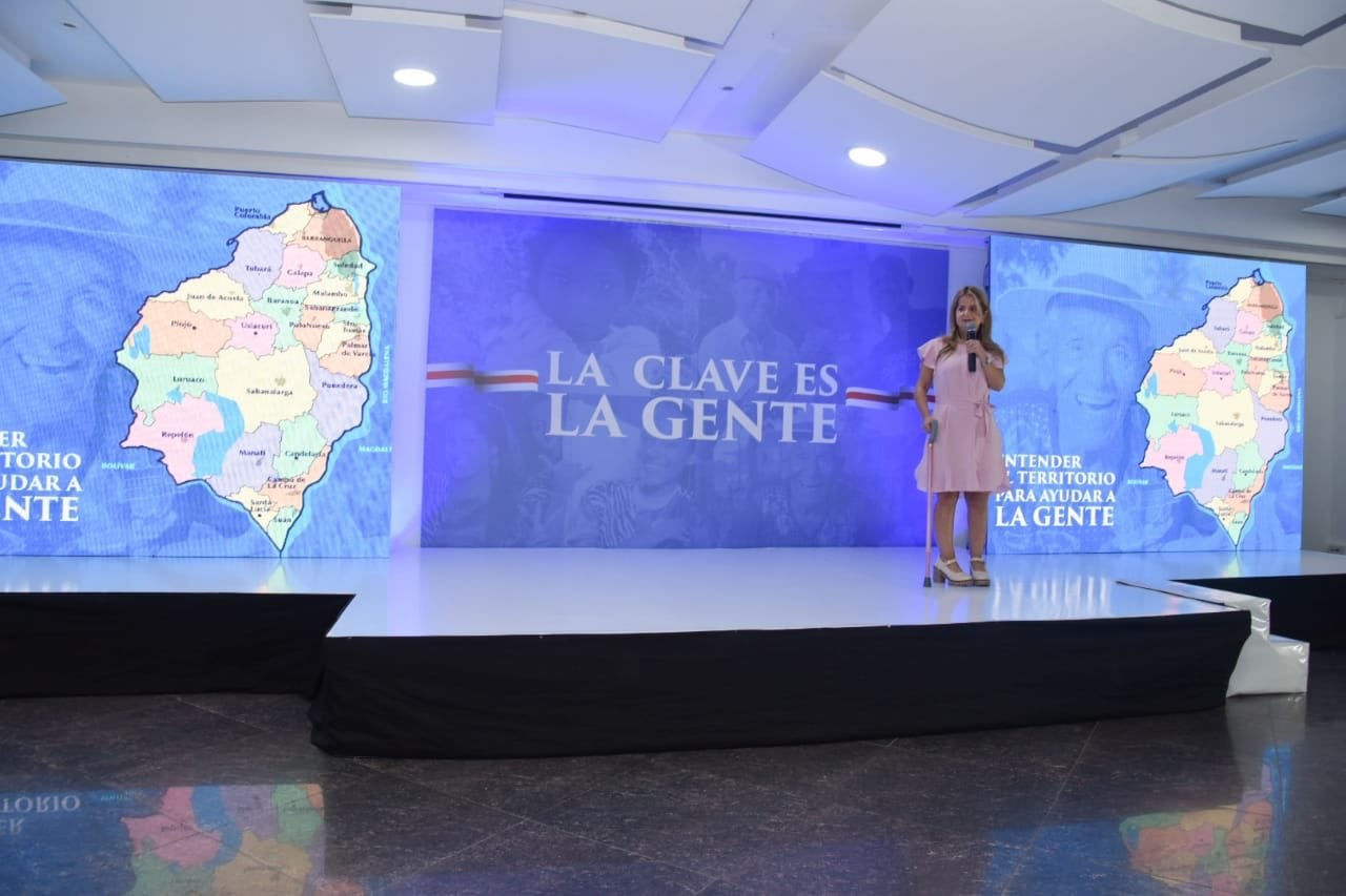 Elsa Noguera, candidata a Gobernación del Atlántico