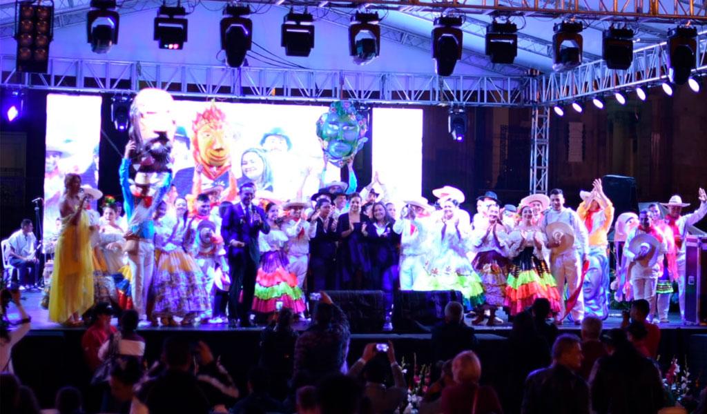 Bogotá disfrutó el lanzamiento del 47° Festival Folclórico