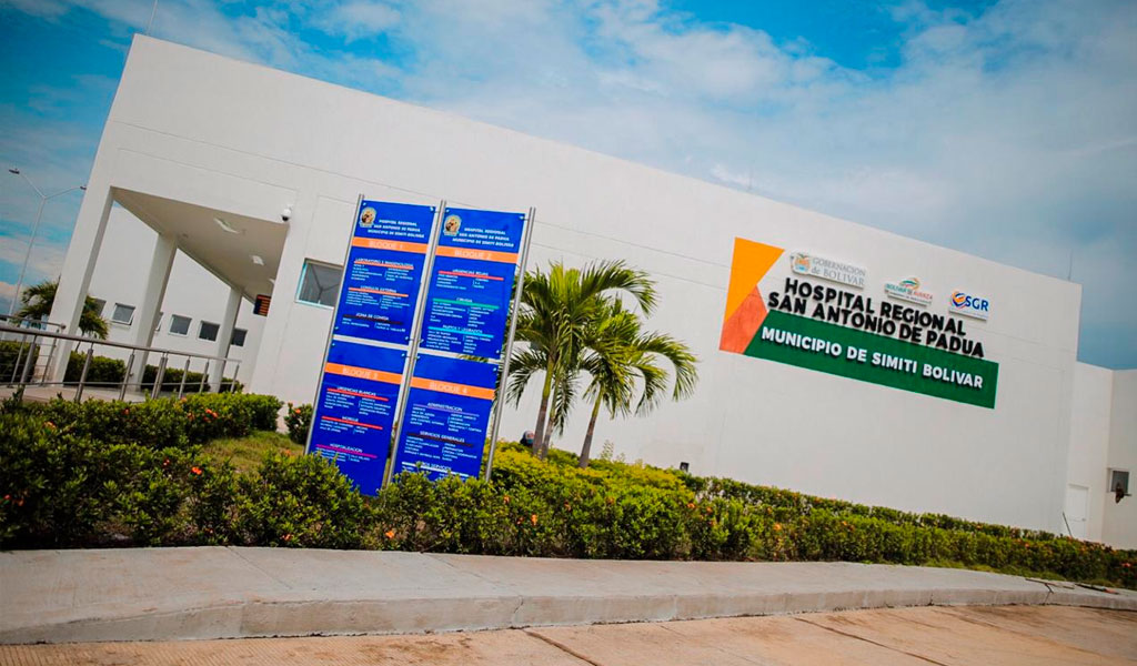 Nuevo centro médico en el sur de Bolívar