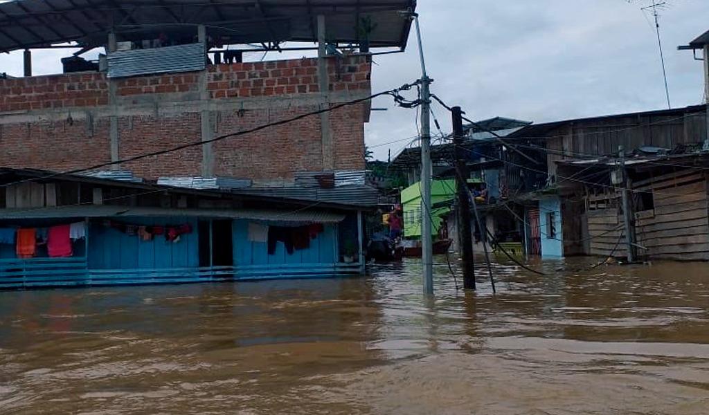 Entregan ayuda humanitaria en Barbacoas, Nariño