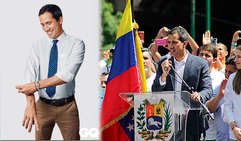 ¿Política o moda?, Juan Guaidó es portada de GQ México