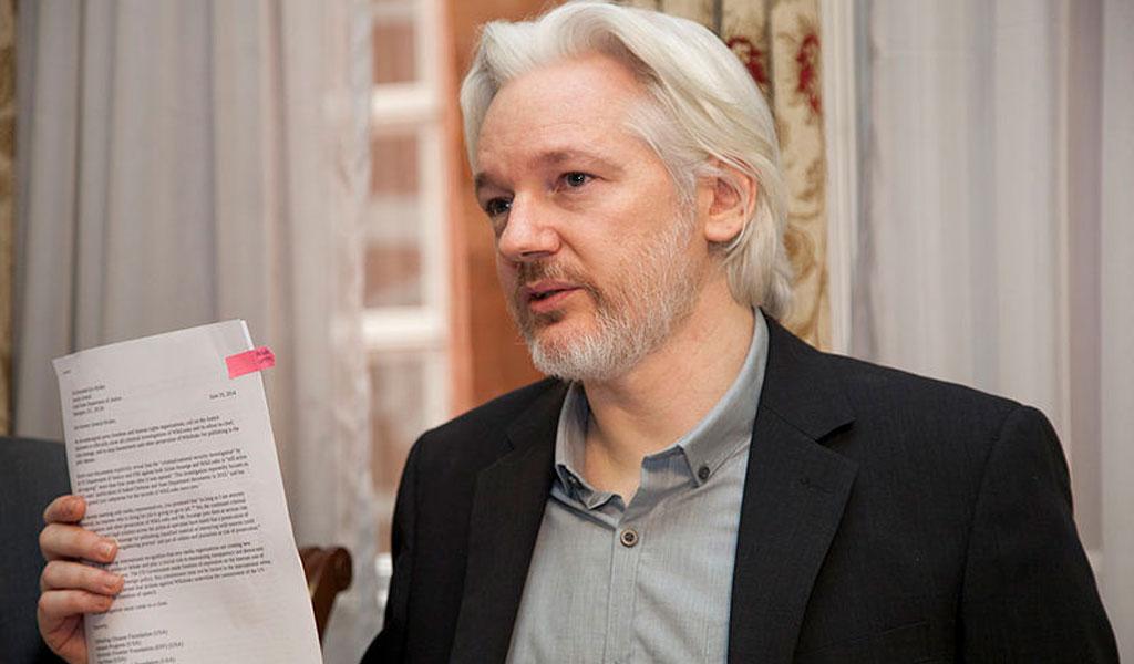 Julian Assange enfrenta pena de 175 años de prisión